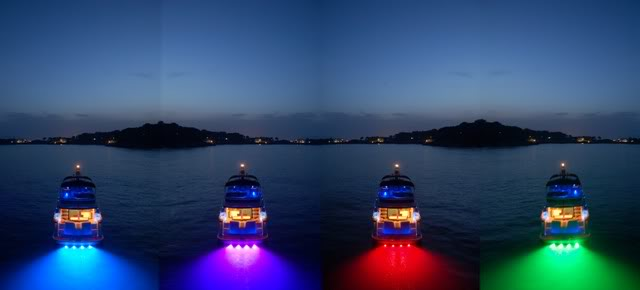 3w 3pcs 9w Led Boat Light Led Underwater Lights Led Work